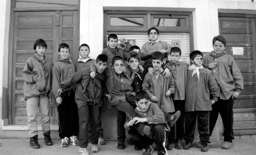 Niños de Villanueva de la Vera.