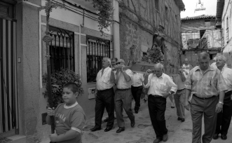 Procesión de San Roque.