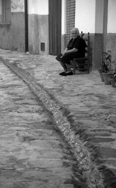 El agua que se va; Valverde.