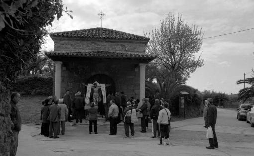 La ermita del Cristo.