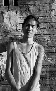 An Wei, pintor y muralista.