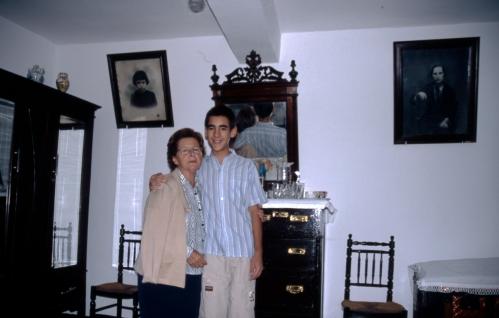 Eusebia y Andrés; Pasarón de la Vera.