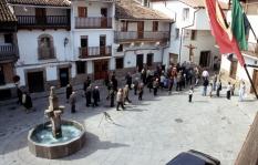 El Cristo en la plaza.